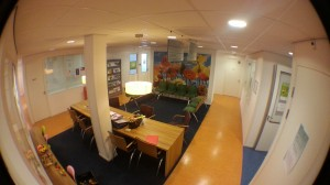 Wachtkamer logopediepraktijk Wesselink